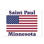 Saint Paul Flag Postcards (Package of 8)