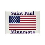 Saint Paul Flag Rectangle Magnet (10 pack)