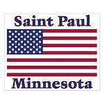 Saint Paul Flag Small Poster