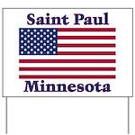 Saint Paul Flag Yard Sign