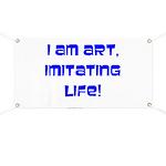 I am art Banner