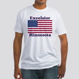 Excelsior Flag Fitted T-Shirt