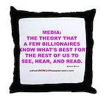 Media Throw Pillow