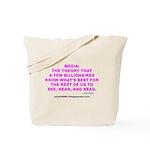 Media Tote Bag