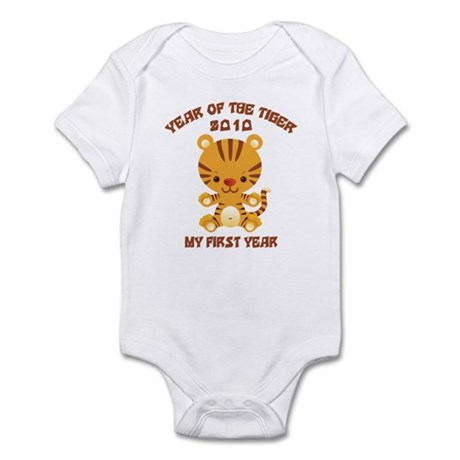 Baby Tiger 2010 Year of The Tiger Infant Bodysuit