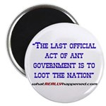 Last Official Act Magnet