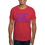 Last Official Act Dark T-Shirt