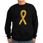 Gold Ribbon Sweatshirt (dark)