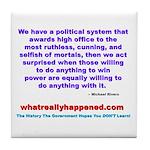 POLITICALPOWER Tile Coaster