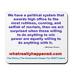 POLITICALPOWER Mousepad