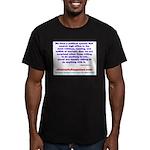 POLITICALPOWER Men's Fitted T-Shirt (dark)