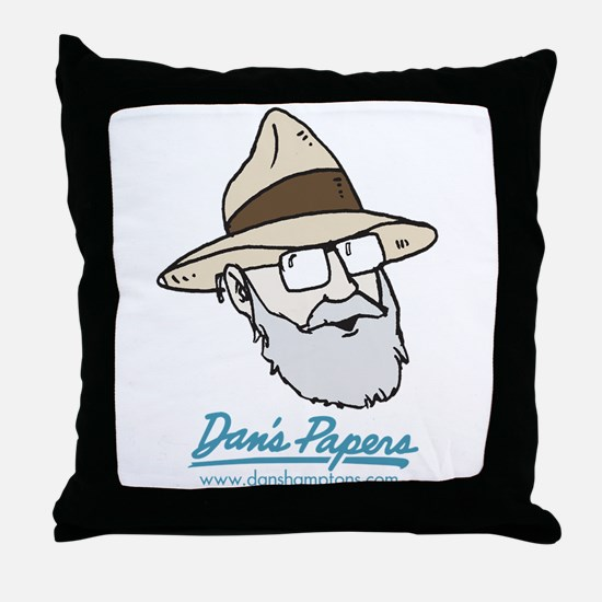 Dan Man Throw Pillow