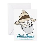 Dan Man Greeting Cards (Pk of 10)
