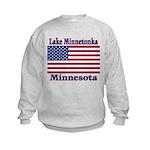 Lake Minnetonka Flag Kids Sweatshirt