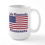 Lake Minnetonka Flag Large Mug