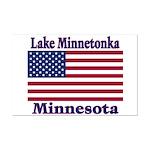 Lake Minnetonka Flag Mini Poster Print