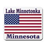 Lake Minnetonka Flag Mousepad