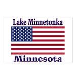 Lake Minnetonka Flag Postcards (Package of 8)