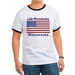 Lake Minnetonka Flag Ringer T