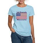 Lake Minnetonka Flag Women's Light T-Shirt