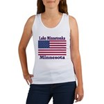 Lake Minnetonka Flag Women's Tank Top