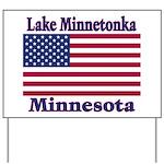 Lake Minnetonka Flag Yard Sign