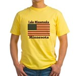 Lake Minnetonka Flag Yellow T-Shirt