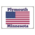 Plymouth Flag Banner