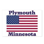 Plymouth Flag Postcards (Package of 8)