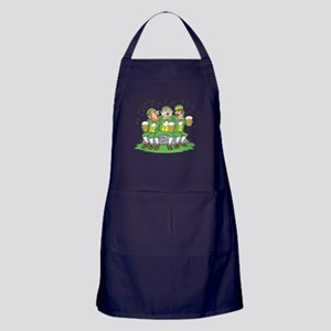 Leprechauns Singing Apron (dark)