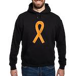 Orange Ribbon Hoodie (dark)