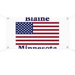 Blaine Flag Banner