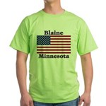 Blaine Flag Green T-Shirt