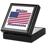 Blaine Flag Keepsake Box