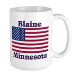 Blaine Flag Large Mug