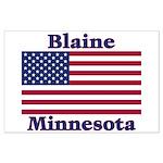 Blaine Flag Large Poster