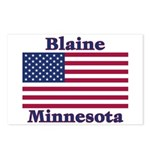 Blaine Flag Postcards (Package of 8)