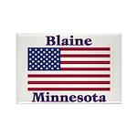 Blaine Flag Rectangle Magnet