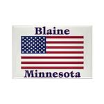 Blaine Flag Rectangle Magnet (100 pack)