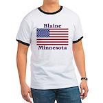 Blaine Flag Ringer T