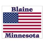 Blaine Flag Small Poster
