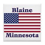 Blaine Flag Tile Coaster