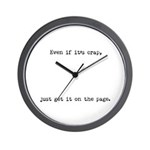 Even If Wall Clock