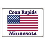 Coon Rapids Flag Banner