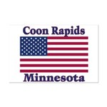 Coon Rapids Flag Mini Poster Print