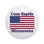 Coon Rapids Flag Ornament (Round)