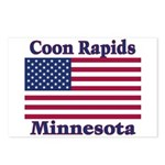 Coon Rapids Flag Postcards (Package of 8)