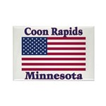 Coon Rapids Flag Rectangle Magnet (100 pack)