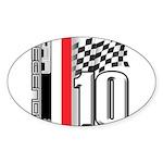 GT2 Oval Sticker
