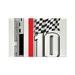 GT2 Rectangle Magnet (10 pack)